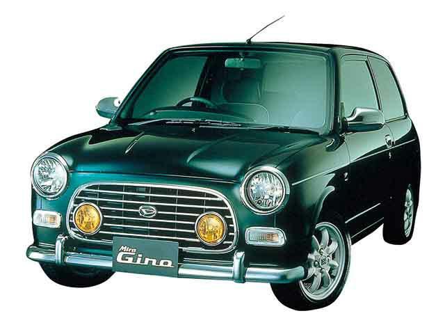 ミニをモチーフにした車その1、ダイハツ ミラジーノ