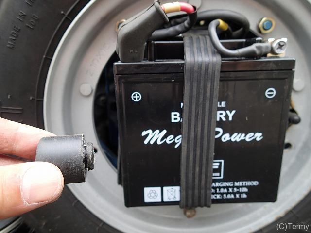 スターデラックス4S 125のバッテリー交換は5分で終了