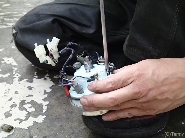スターデラックス4S 125 メーター修理