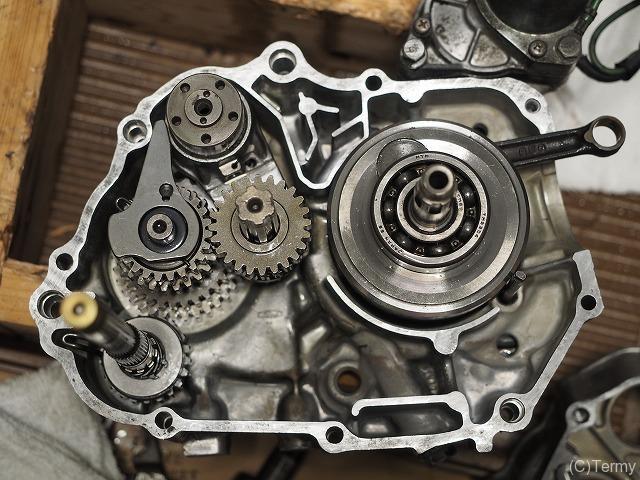 スーパーカブならエンジン整備が簡単