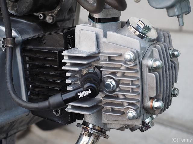 スーパーカブ90のエンジン性能