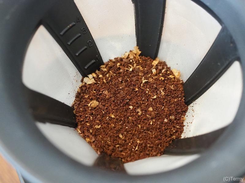 焙煎し終えたコーヒー豆でコーヒーを作ってみた
