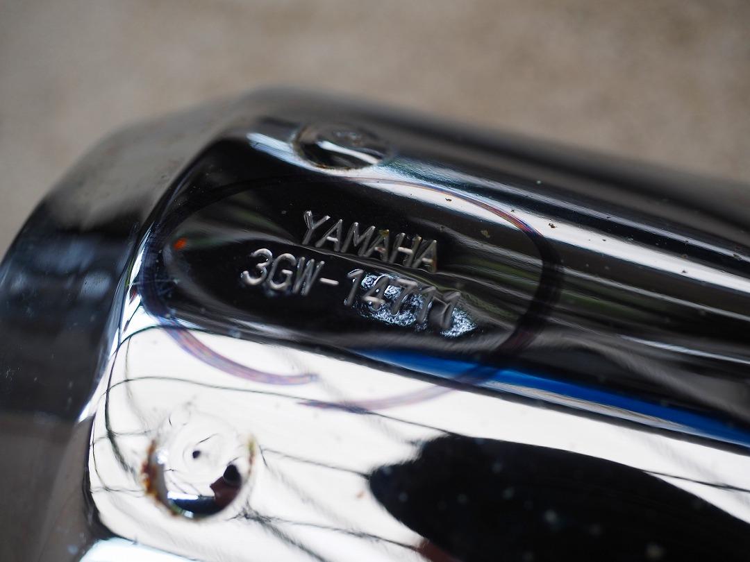 SR400純正マフラー3GW-14711